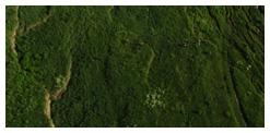 Snímky závalového územia v Nižnej Myšli metódou leteckého snímkovania